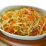Как приготовить быстро салат 4