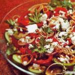 Как приготовить быстро салат 7