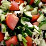 Как приготовить быстро салат 5