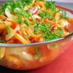 Как приготовить быстро салат 1