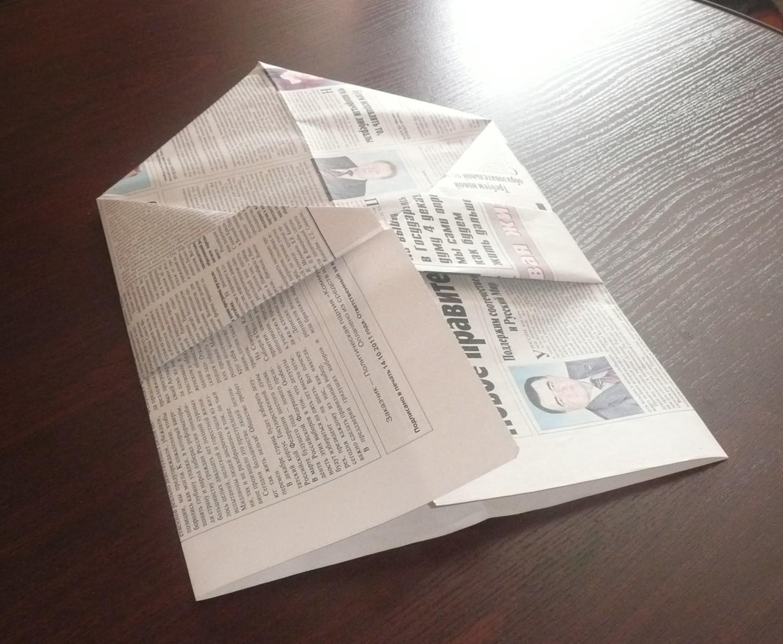 Кепка из газеты с козырьком своими руками пошагово