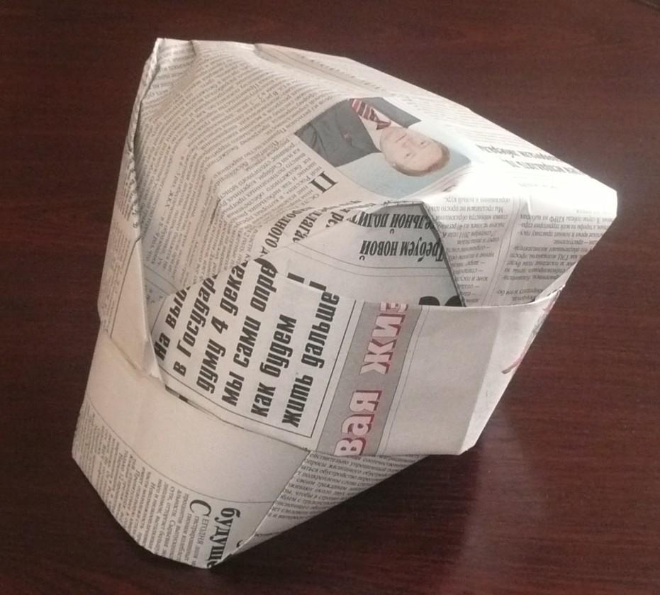 Делаем своими руками из газет