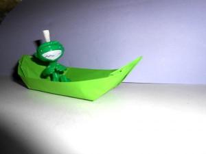 Как сделать детскую лодку