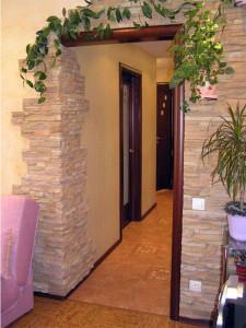 Декоративный камень в интерьере