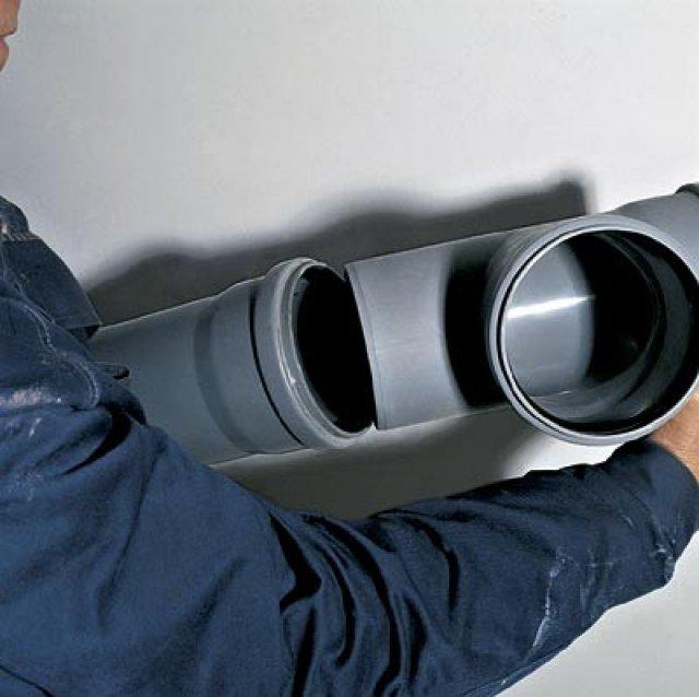 Монтаж канализационных труб своими руками: прокладка металлических для наружной канализации, установка методом прокола, быстрора