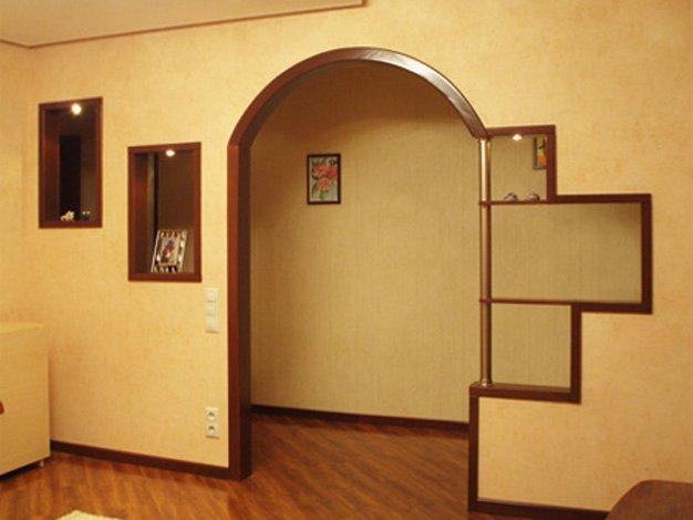 Дверь в арке хрущевки своими руками фото