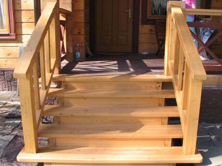 Входные лестницы в дом своими руками