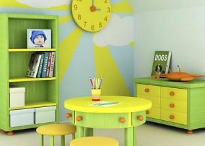 Обустройство детской комнаты по фэн-шуй