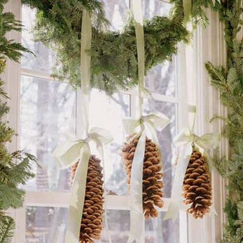 Новогодние украшения в доме своими руками фото