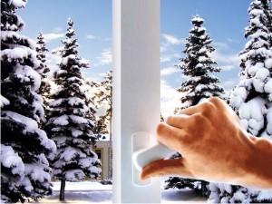 Замена пластиковых окон в зимнее время