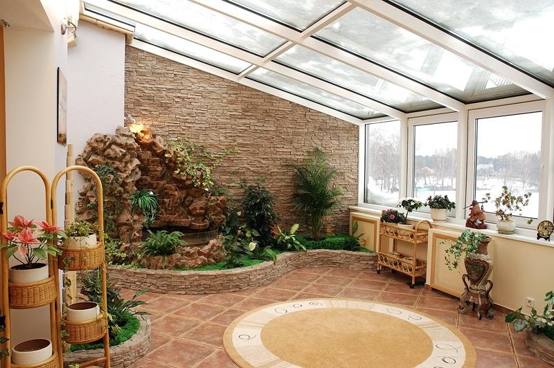 Зимний сад дизайн интерьера