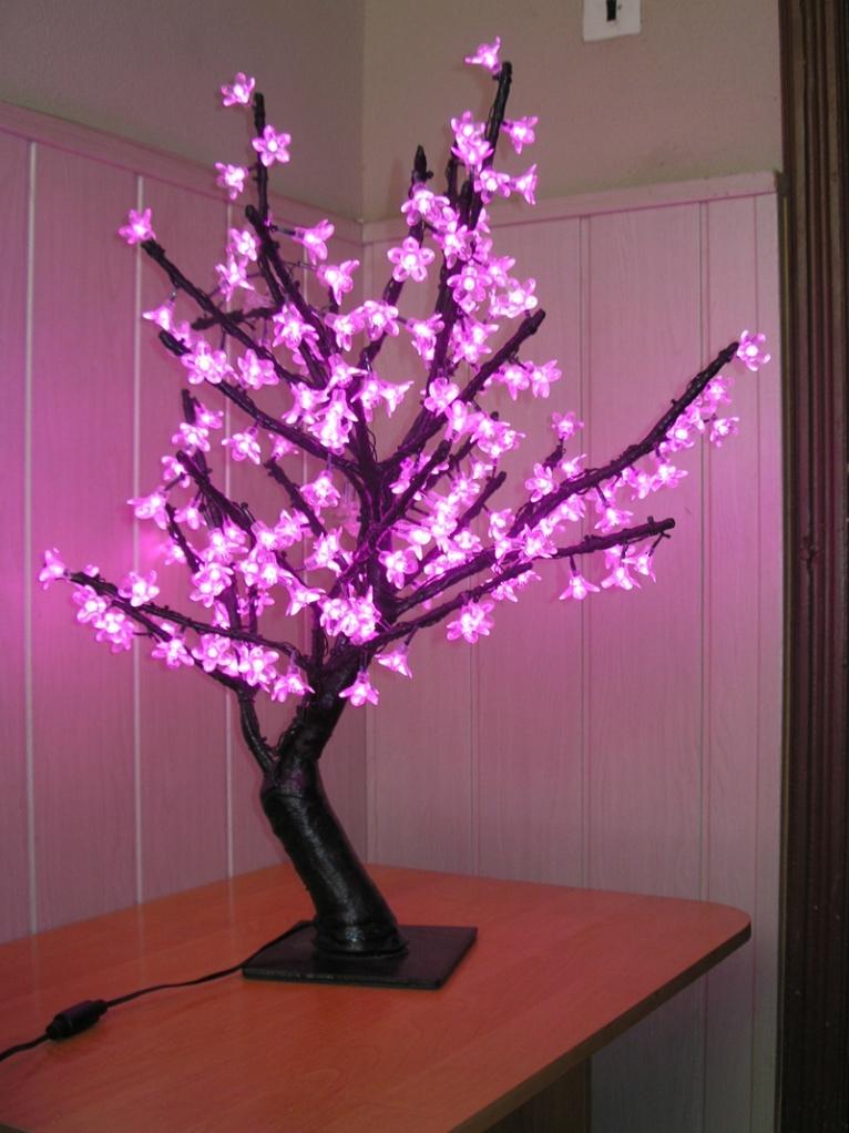 Светодиодный светильник из дерева своими руками