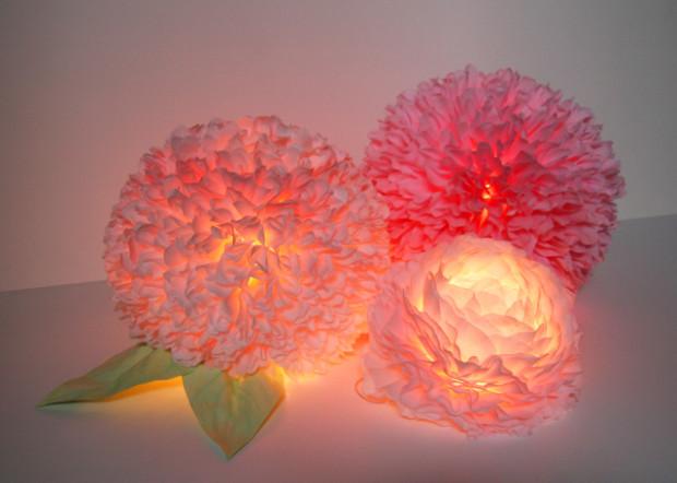 Ночник своими руками цветка