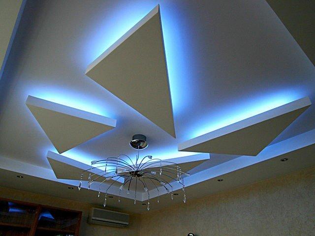 Дизайн со светодиодными лентами