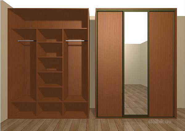 Сделать шкаф в стене