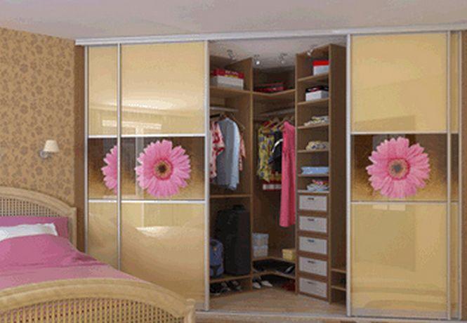 Встроенный шкаф купе в спальню своими руками фото