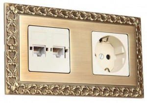 рамки для выключателей и розеток