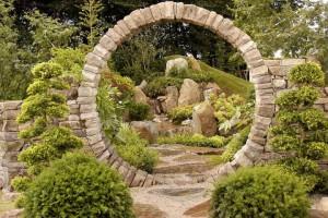 Сад в японском стиле2
