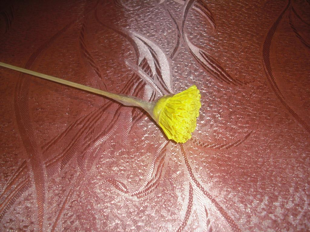 Одуванчик из бумаги пошагово: фото, мастер-класс 43