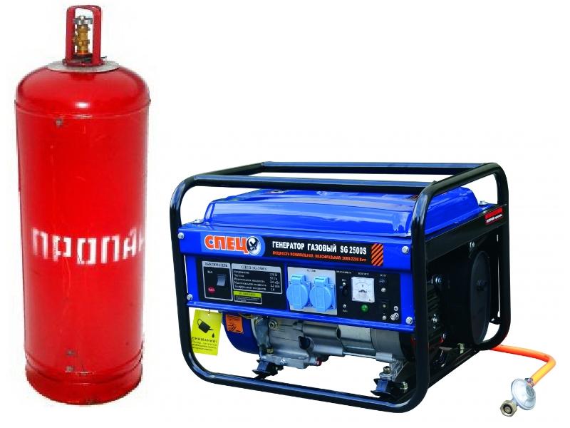 Генератор газовый бытовой