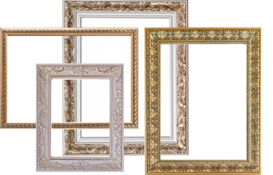 Потолочный плинтус для декоративных рамок