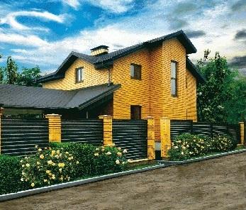 Ограждения частного дома