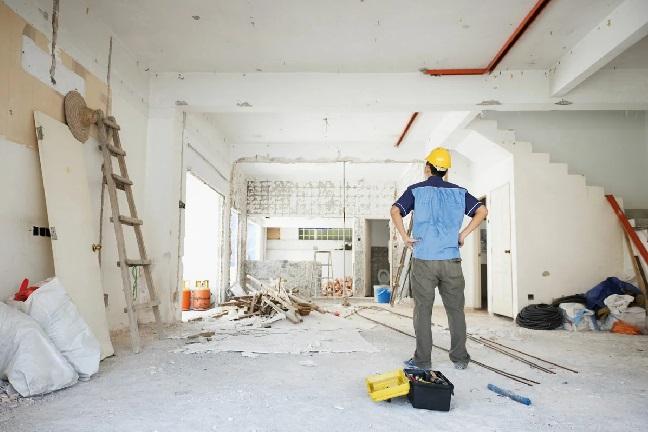 Процесс ремонта квартиры